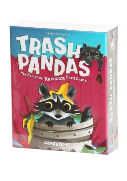 Gamewright Trash Pandas: The Raucous Raccoon Card Game