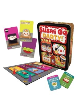 Gamewright Sushi Go Party! Deluxe Pick and Pass Card Game