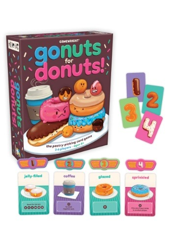 Gamewright Go Nuts for Donuts! The Pastry-Picking Card Game