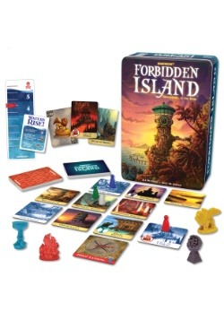 Gamewright Forbidden Island Adventure If You Dare Game
