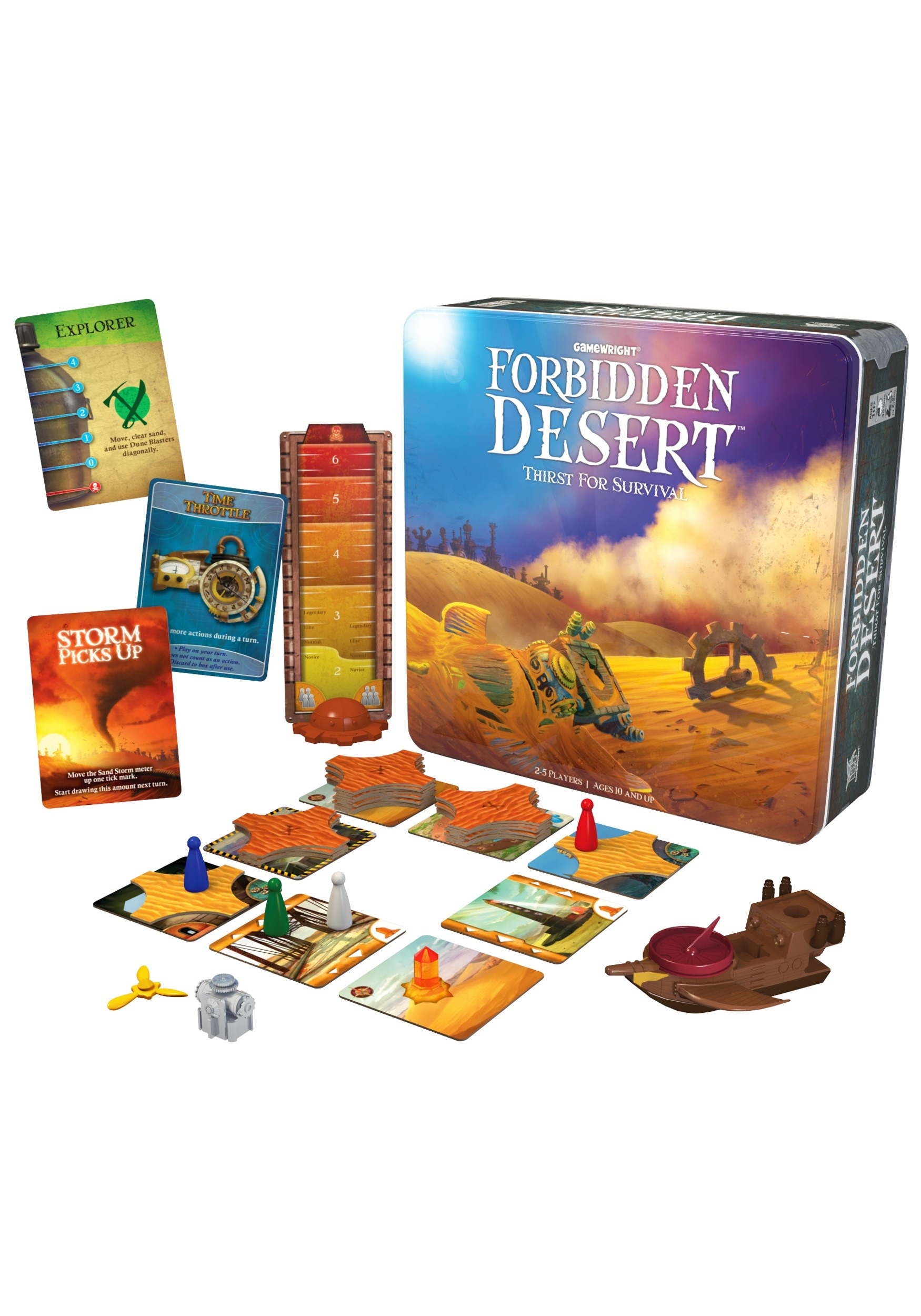 Gamewright Forbidden Desert: Thirst for Survival