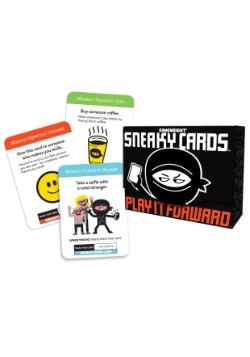 Gamewright Sneaky Cards Play It Forward Party Game