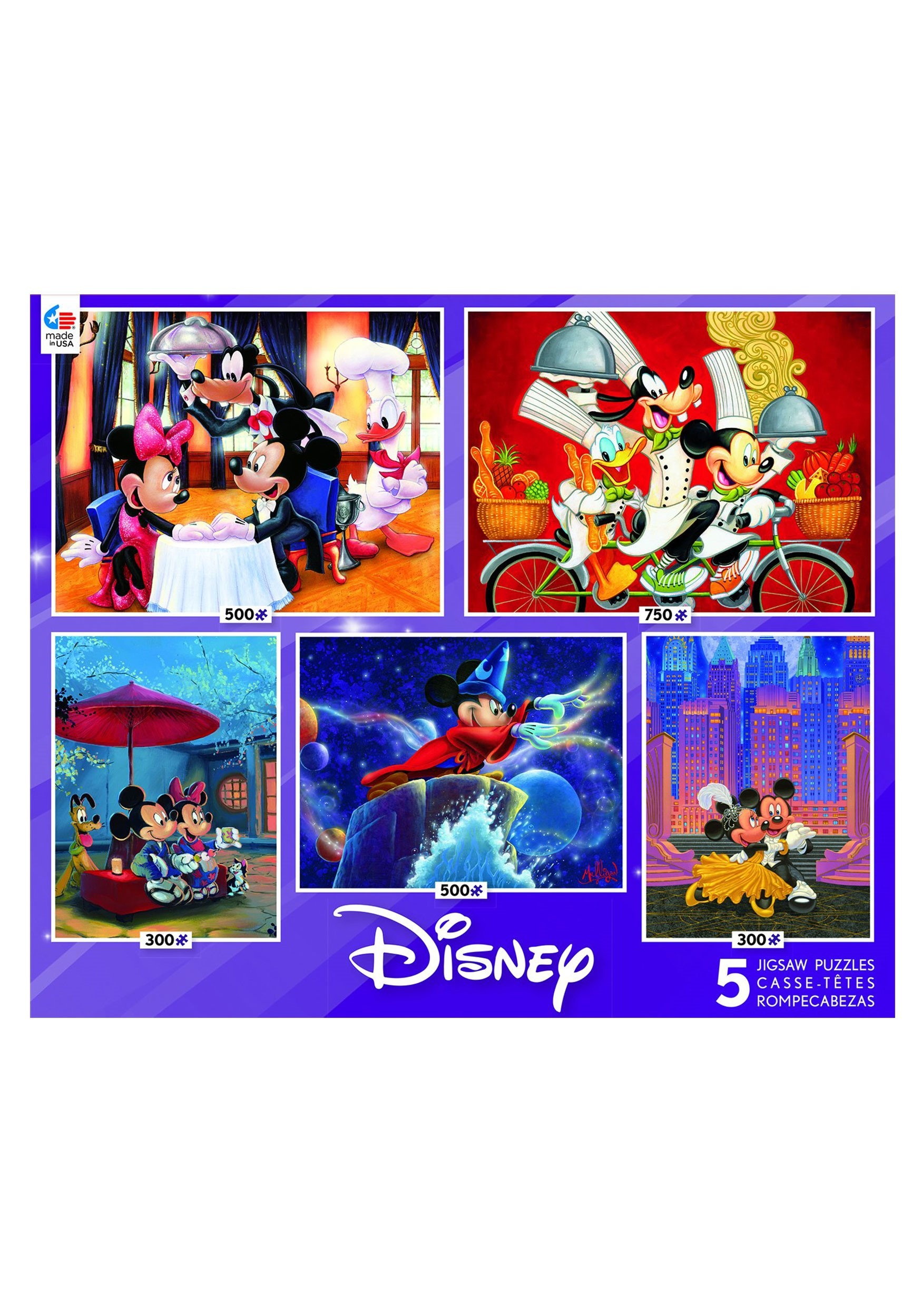 Disney Mickey and Friends 5 in 1 Multi Pack CGW3701