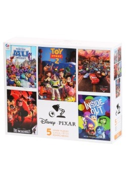 Disney Pixar 5 in 1 Multi Pack Puzzles