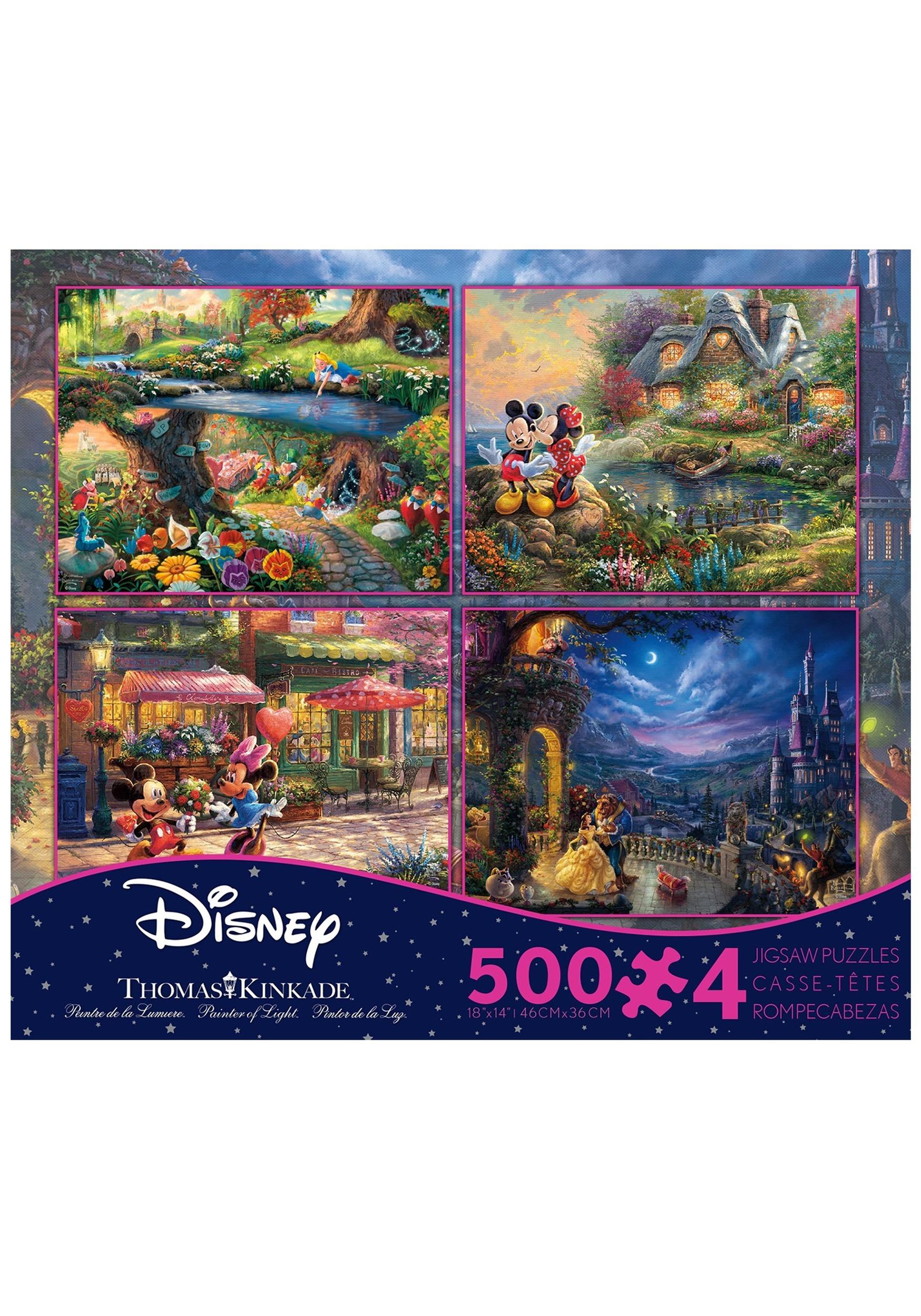 4 500 Piece Thomas Kinkade Disney Dreams Collection