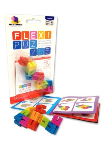 Brainwright Flexi Puzzle - The Bendy Stretchy Brainteaser