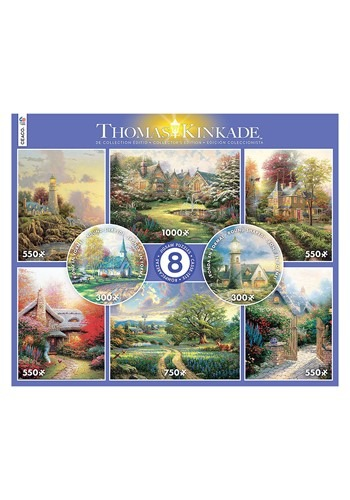 Thomas Kinkade Landscapes 8 in 1 Multi Pack