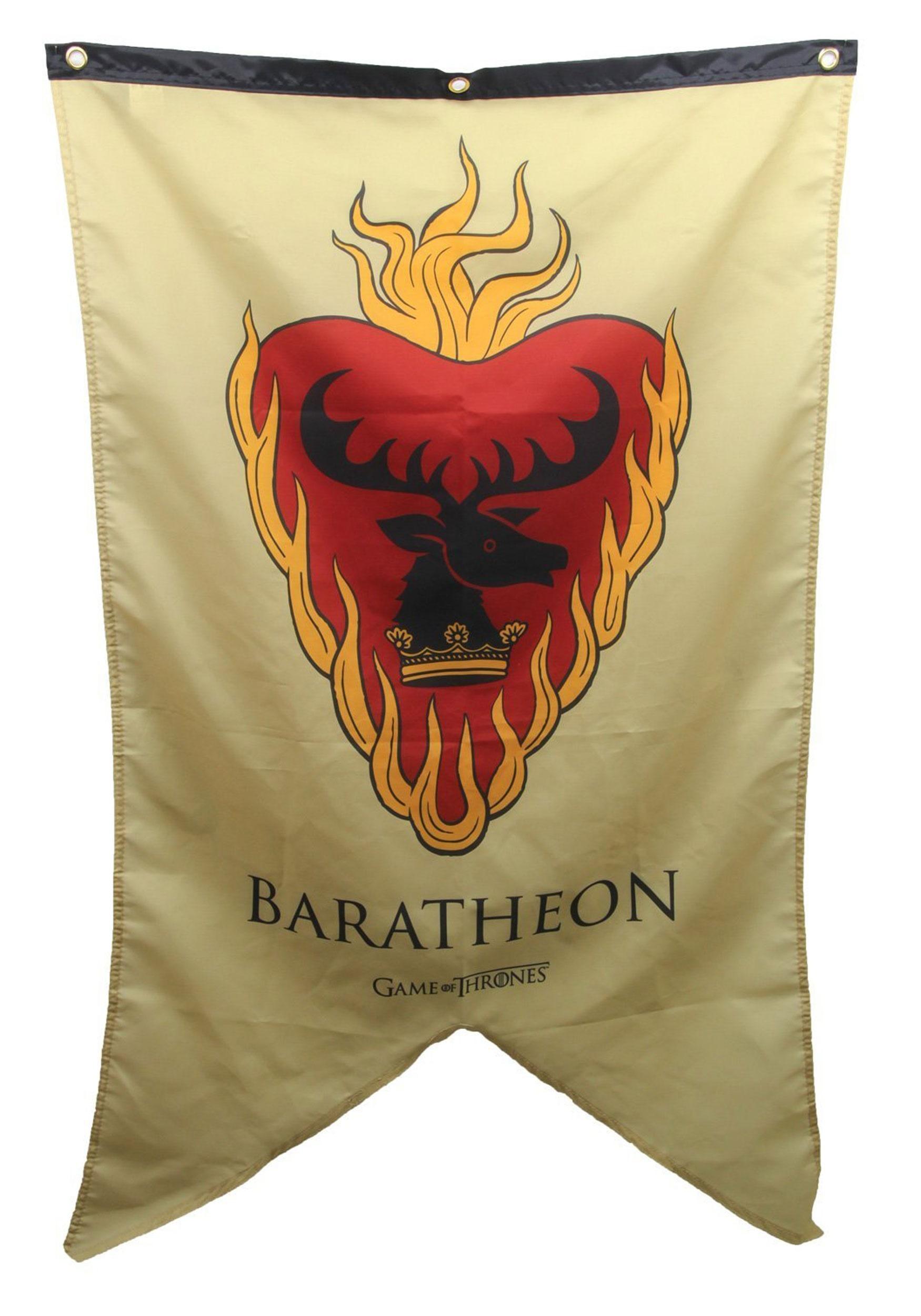 Stannis Baratheon Sigil Game of Thrones Banner