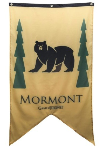 Game of Thrones Mormont Sigil 30x50 Banner
