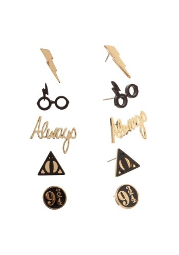 Harry Potter 5-pk Earring Set