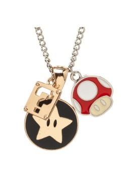 Nintendo Super Mario Charm Necklace