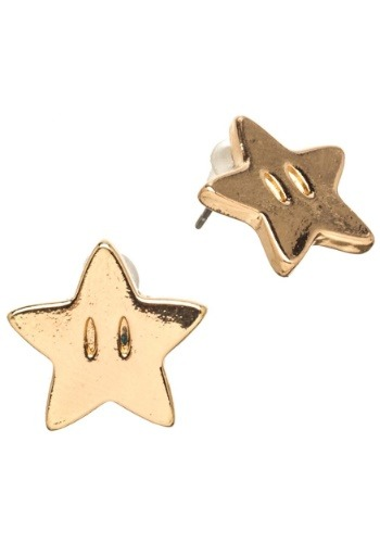Nintendo Super Mario Star Earrings