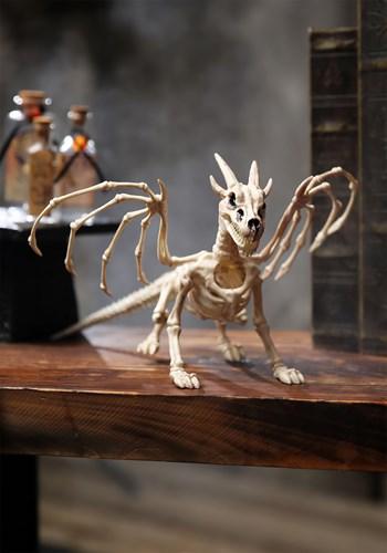 "7"" Dragon Skeleton Halloween Decoration Update"
