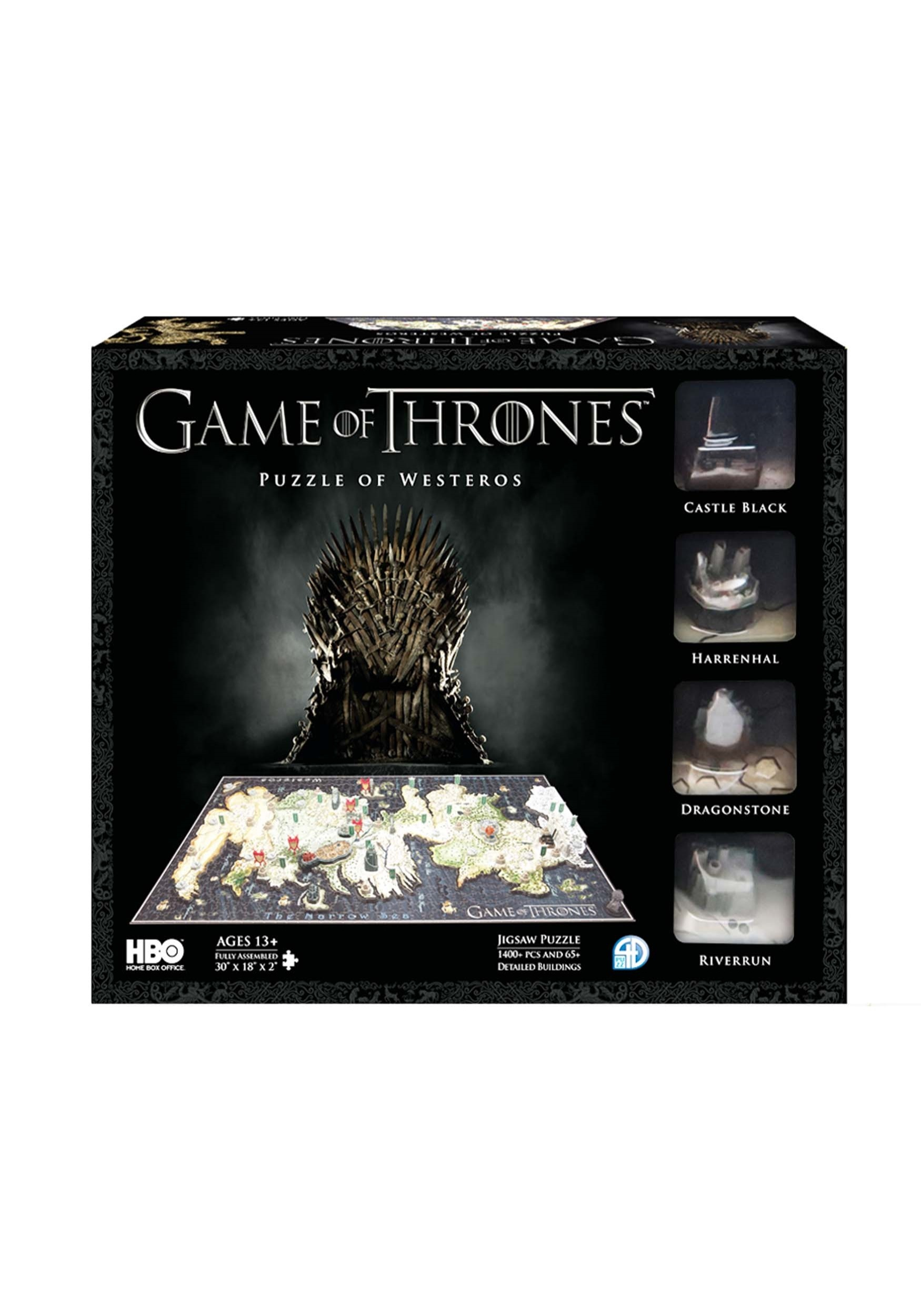 Game of Thrones Westeros 3D Puzzle Game Of Thrones D Map Westeros Puzzle on crown lands map game of thrones, detailed map of westeros game of thrones, google map game of thrones,