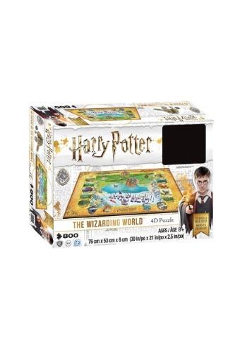 Harry Potter Wizarding World Hogwarts & Hogsmeade Puzzle