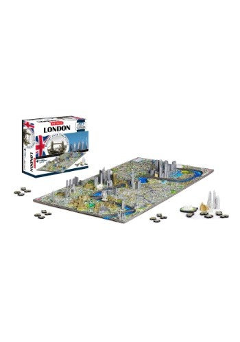 Image of 4D Cityscape London, England Time Puzzle