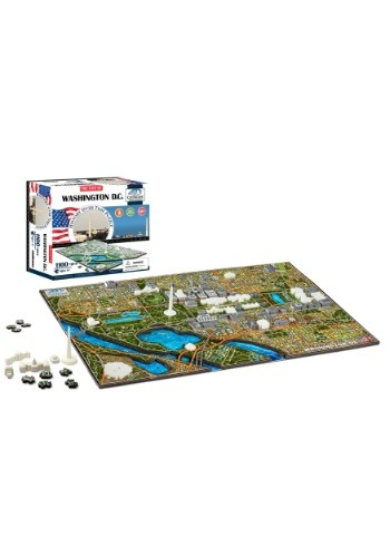 4D Cityscape Washington DC, USA Time Jigsaw Puzzle