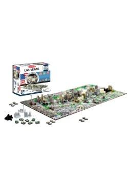 4D Cityscape Las Vegas, USA Time Puzzle