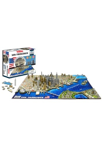 4D Cityscape San Francisco, USA Time Jigsaw Puzzle