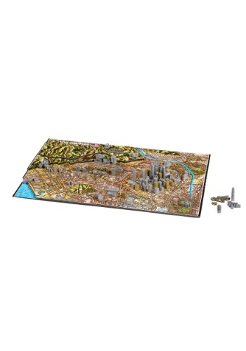 4D Cityscape Los Angeles, USA Time Puzzle