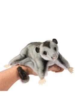 "Squeek the Sugar Glider Plush - 9"" long without tail"