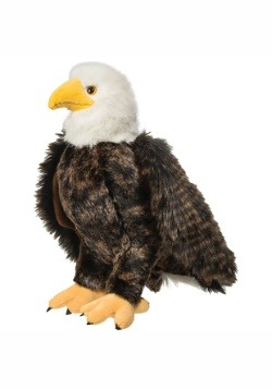 "Adler the Eagle Plush- 12"" tall"