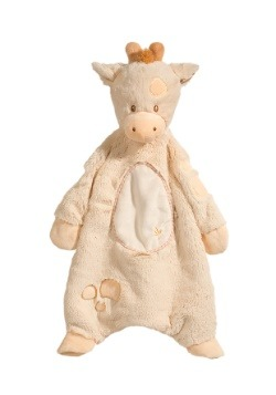 Spotted Giraffe Sshlumpie Plush Blankie