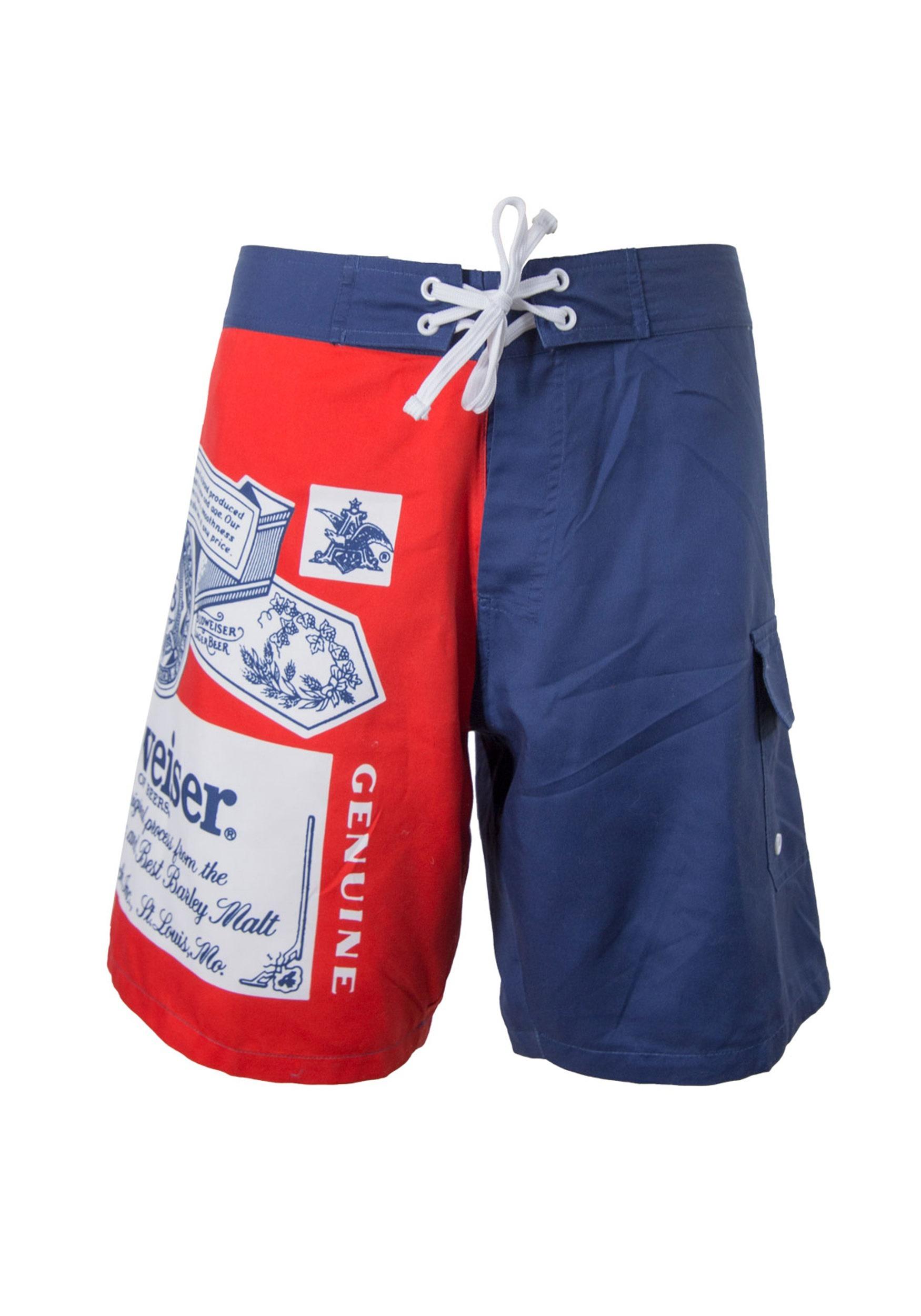 1764fc0062 Men's Budweiser Swim Trunks1