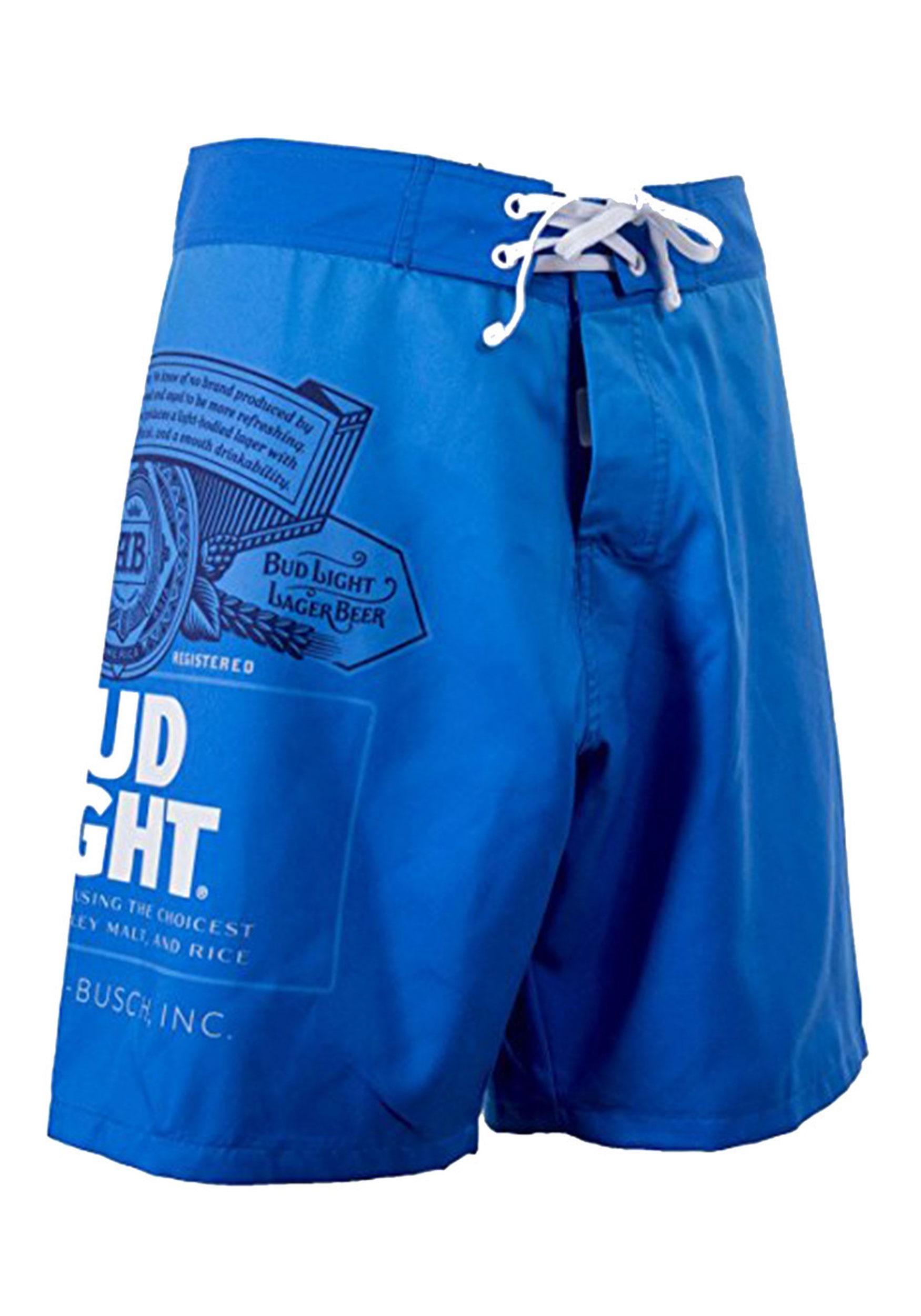 963757141f Bud Light Men's Swim Trunks