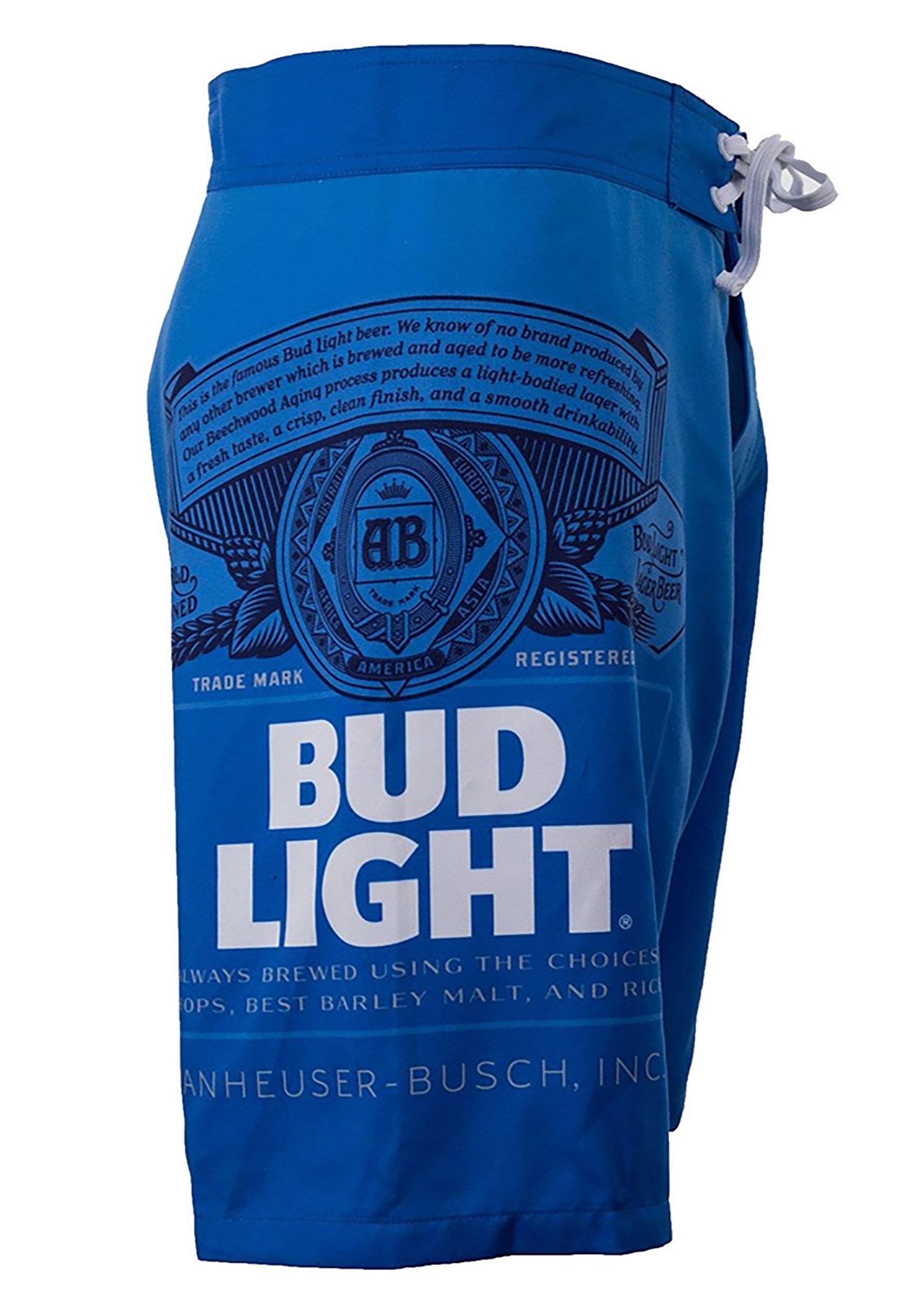 8aab0e4c820 Men's Bud Light Swim Trunks 2