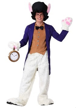Adult White Rabbit Costumecc