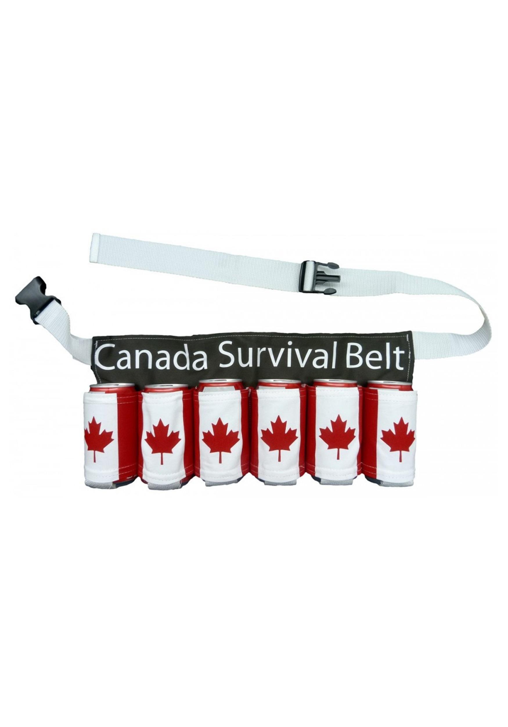 Canada Survival Maple Leaf Beer Belt