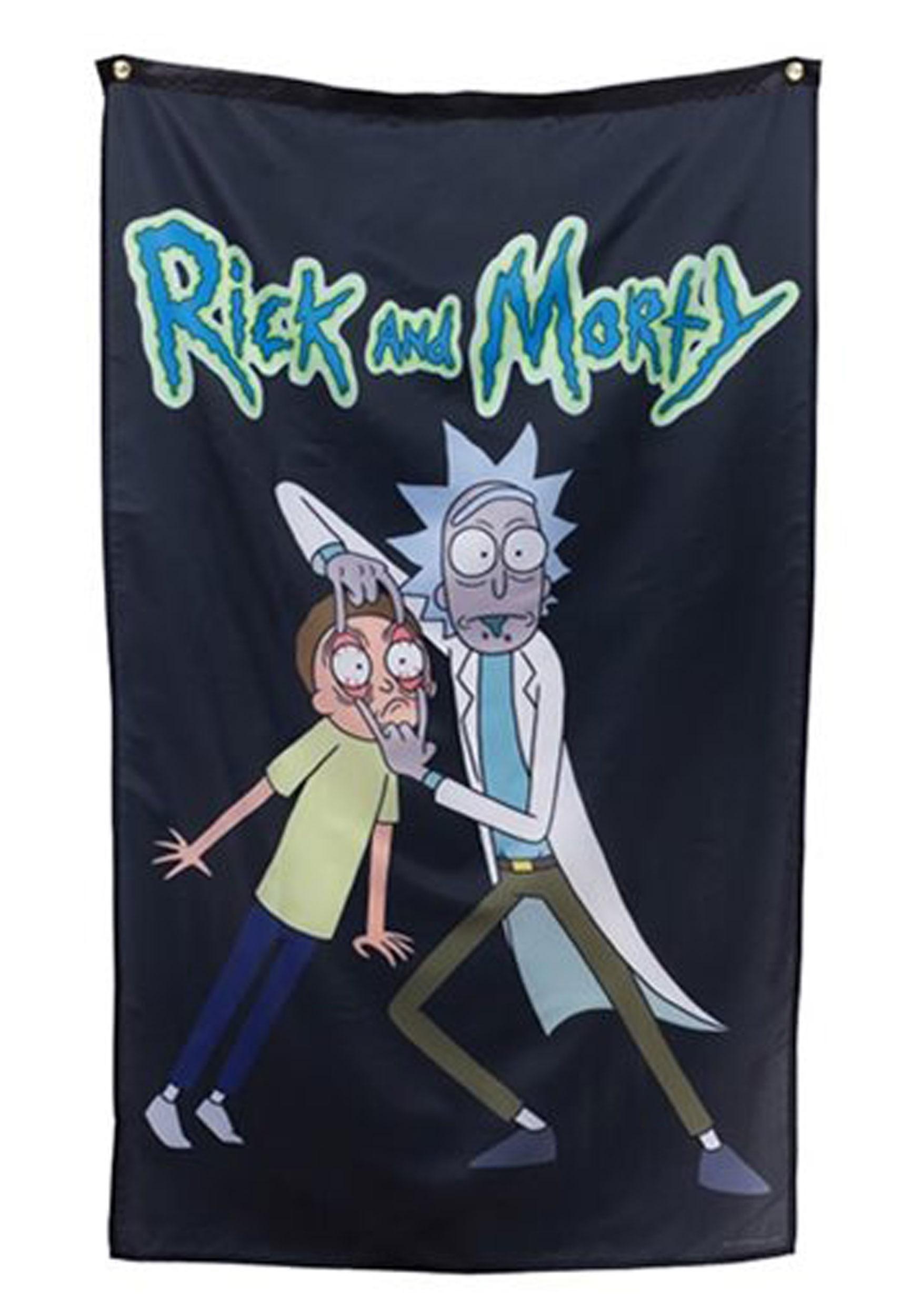 Rick and Morty Wall Decor