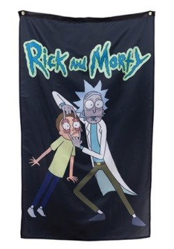 "Rick and Morty 30"" x 50"" Banner"