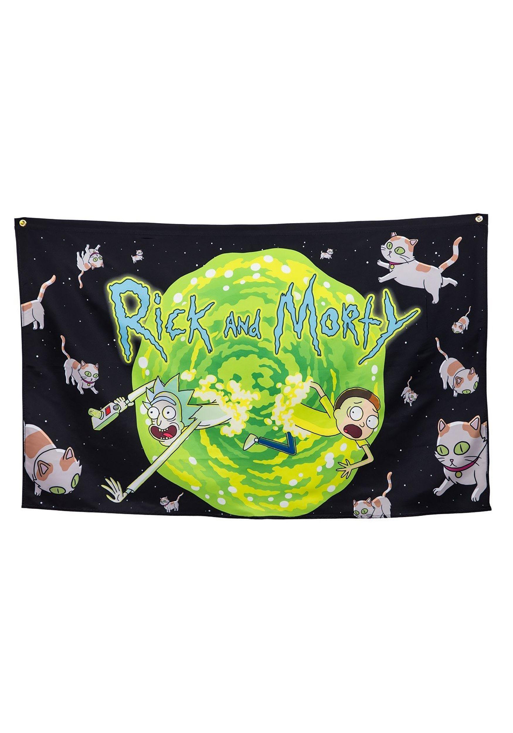 Rick and Morty Portal Banner