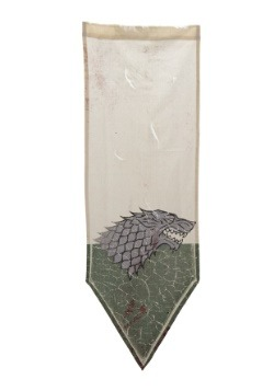 Game of Thrones Winterfell Battle Worn (Distressed Banner)