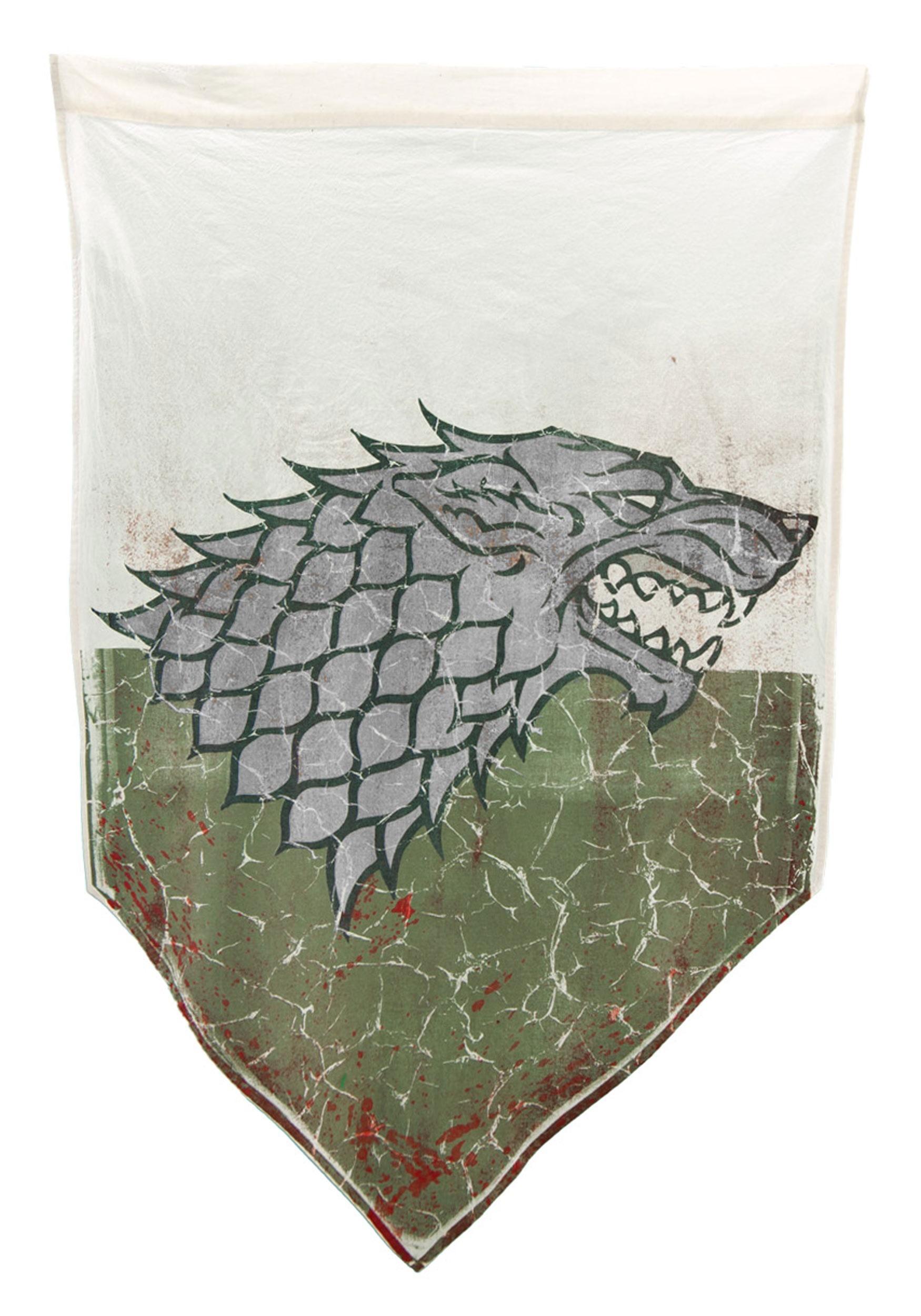 Game of Thrones Winterfell Battle Worn Banner
