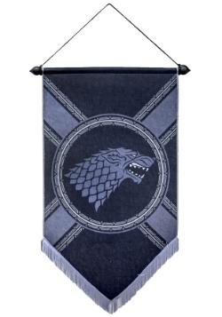 "Game of Thrones House Stark 21"" x 36"" Felt Banner1"