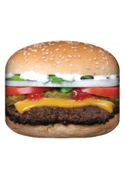 Photo Realistic Hamburger 50 x 60 Blanket