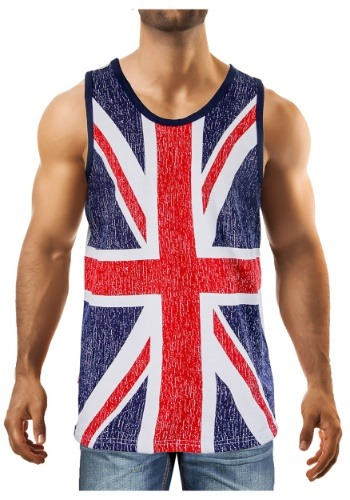 Men's UK Union Jack Flag Tank