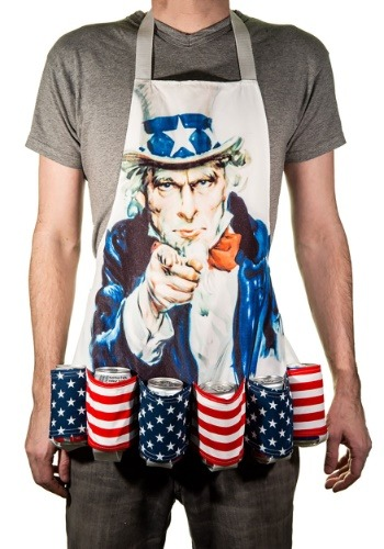 Uncle Sam Fourth of July Beer Belt Apron-update1