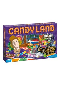 CANDYLAND Willy Wonka Board Game