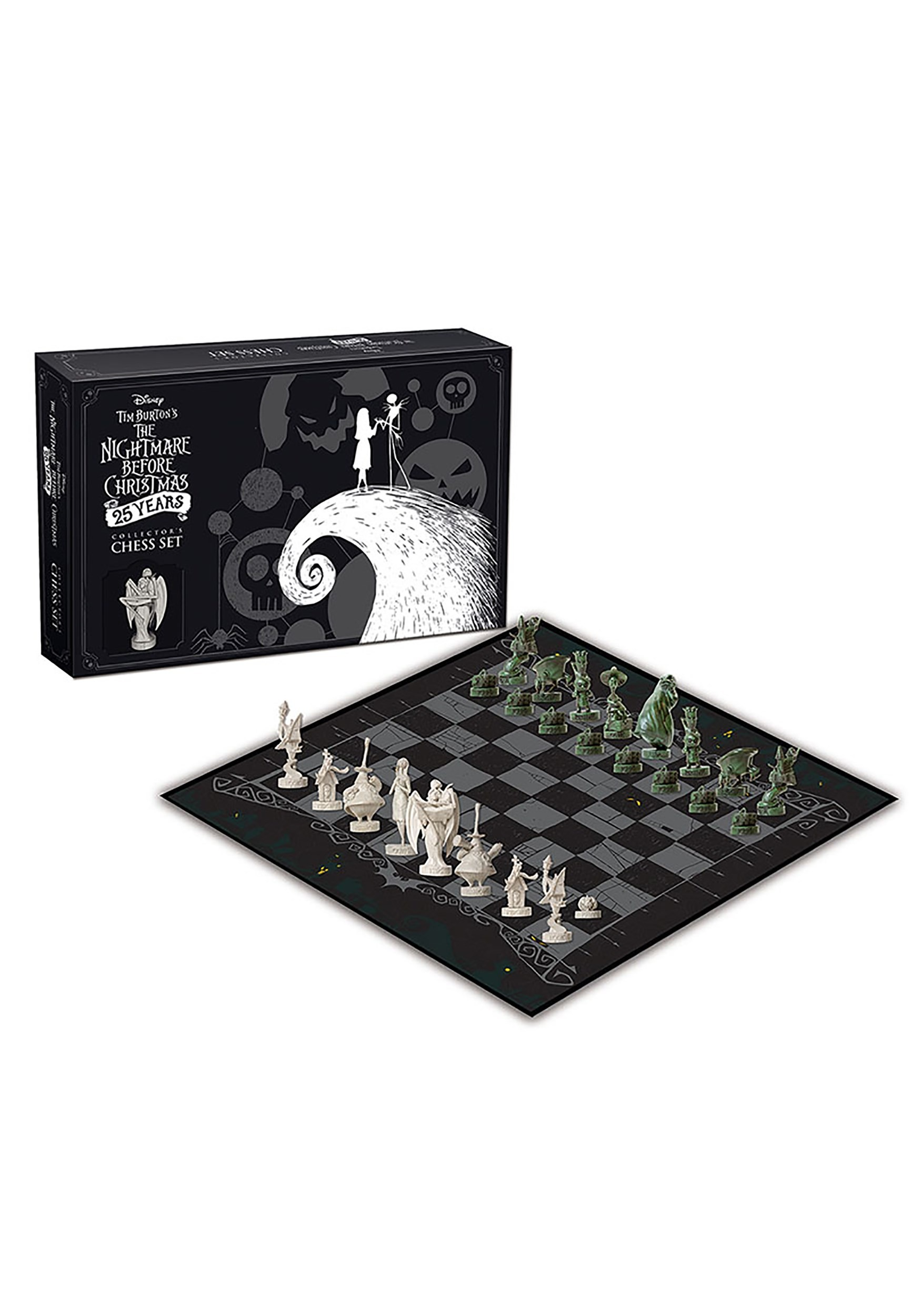 tim burtons the nightmare before christmas chess - Tim Burtons The Nightmare Before Christmas