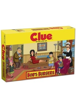 CLUE Bob's Burgers Board Game