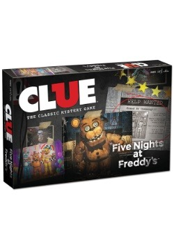 CLUE Five Nights at Freddy's Clue Game