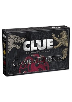 CLUE Game of Thrones Board Game