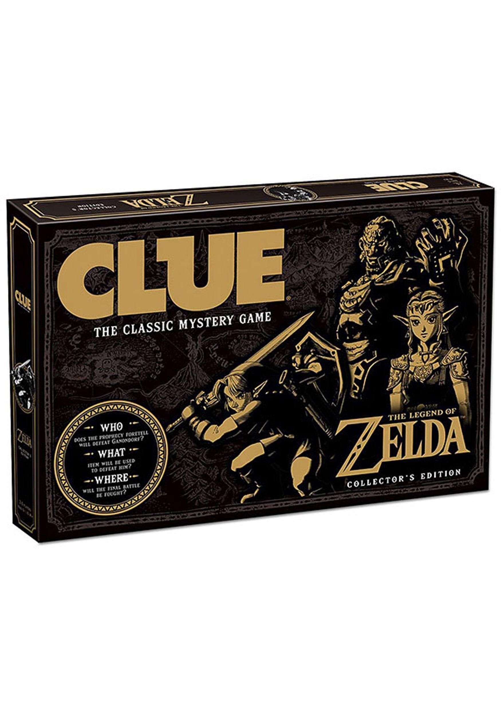 Clue The Legend of Zelda Board Game
