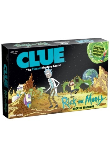 Clue Rick and Morty Board Game