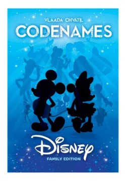 Codenames Disney Family Card Game