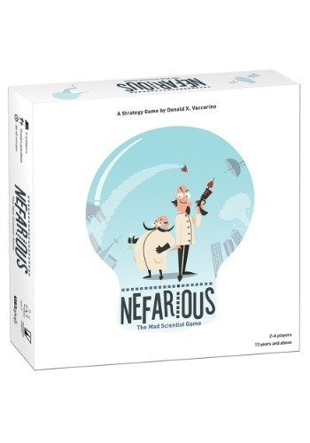 Nefarious Board Game